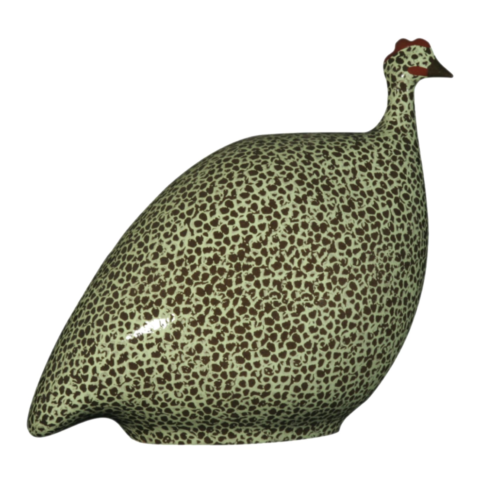 Black Speckled Apple Green French Guinea Hen