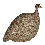 White Speckled Bordeaux French Guinea Hen