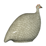Grey Speckled White French Guinea Hen