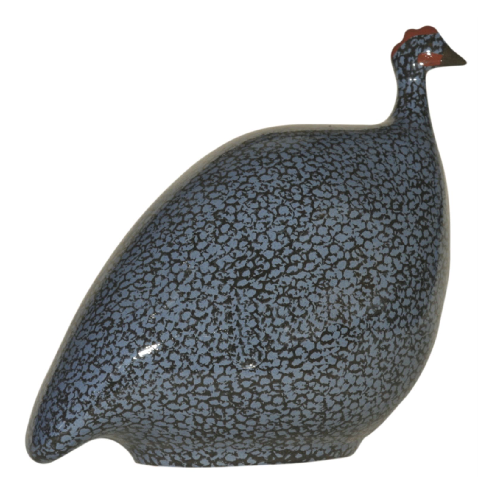 Blue Speckled Black French Guinea Hen