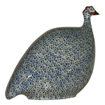 Blue Speckled White French Guinea Hen