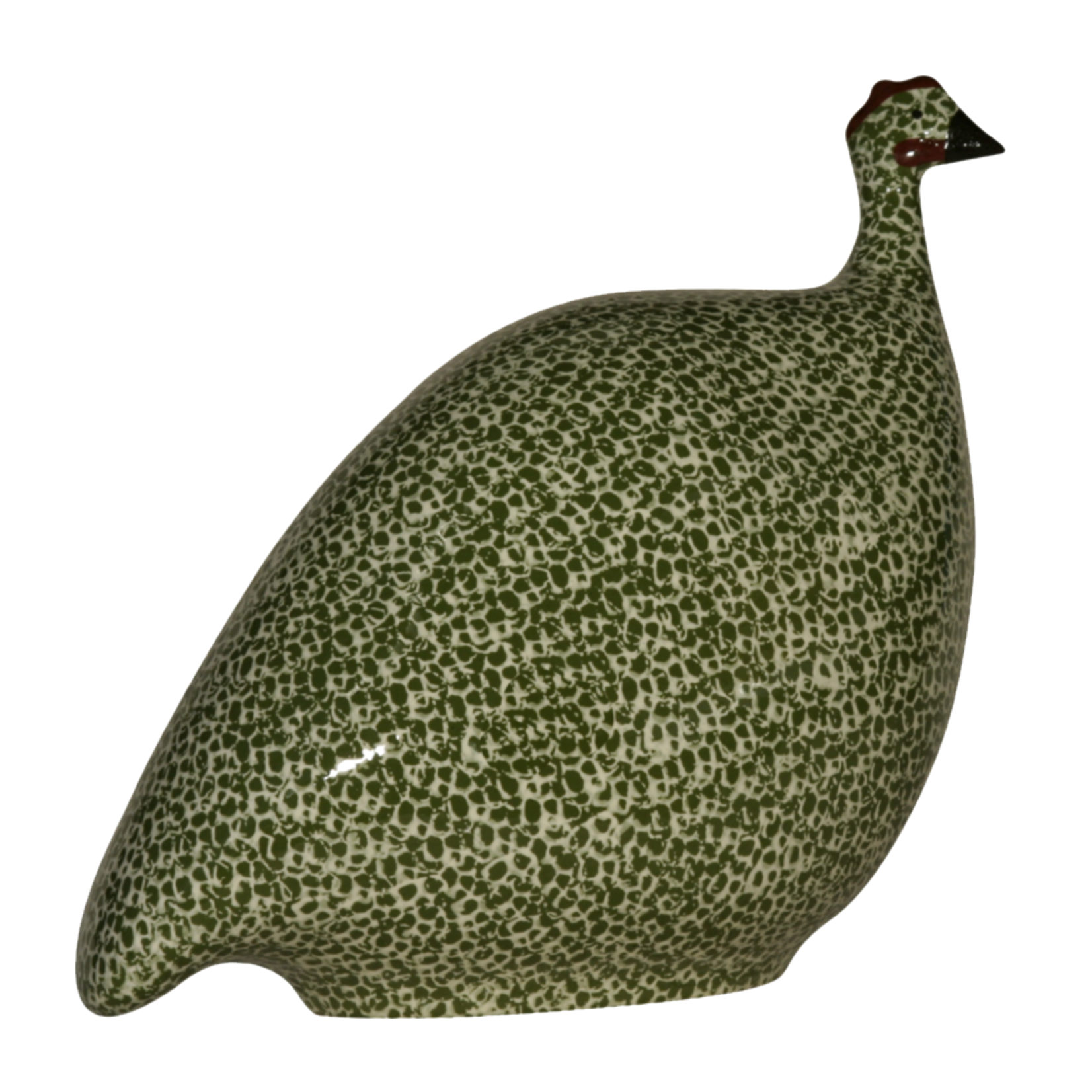 Light Green Speckled Frog Green French Guinea Hen