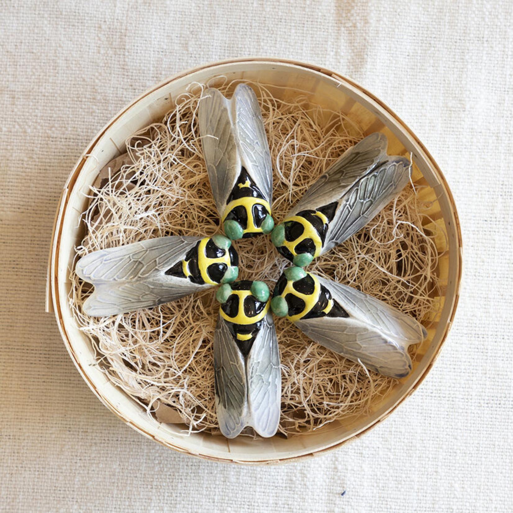 Small Ceramic Cicada