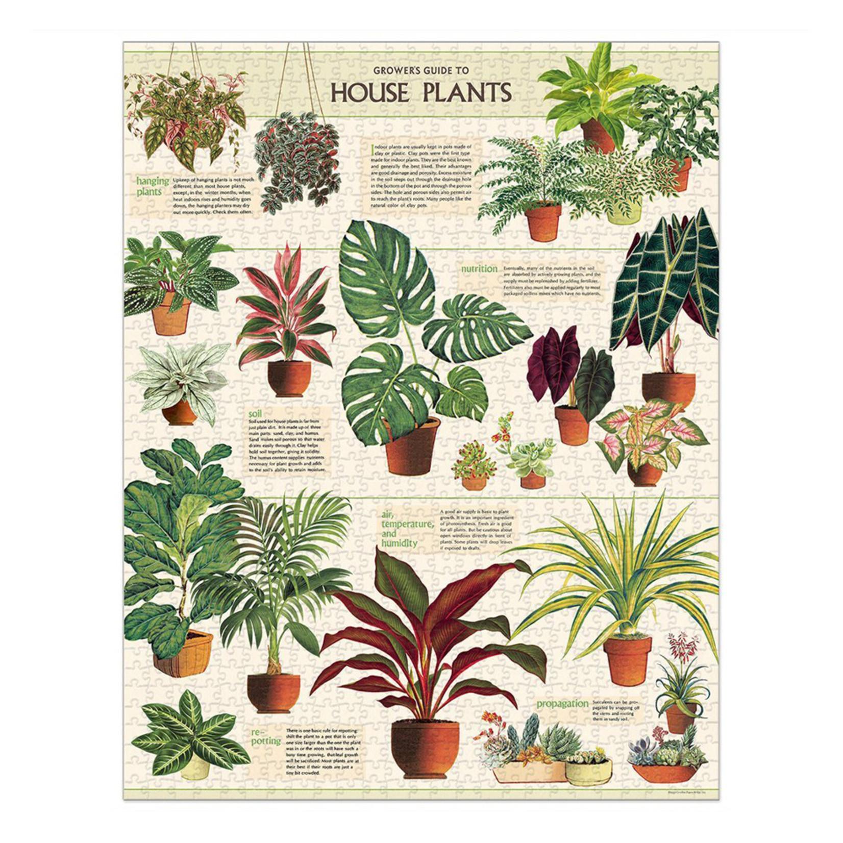 Cavallini & Co. 1000 Pc. Puzzle — House Plants