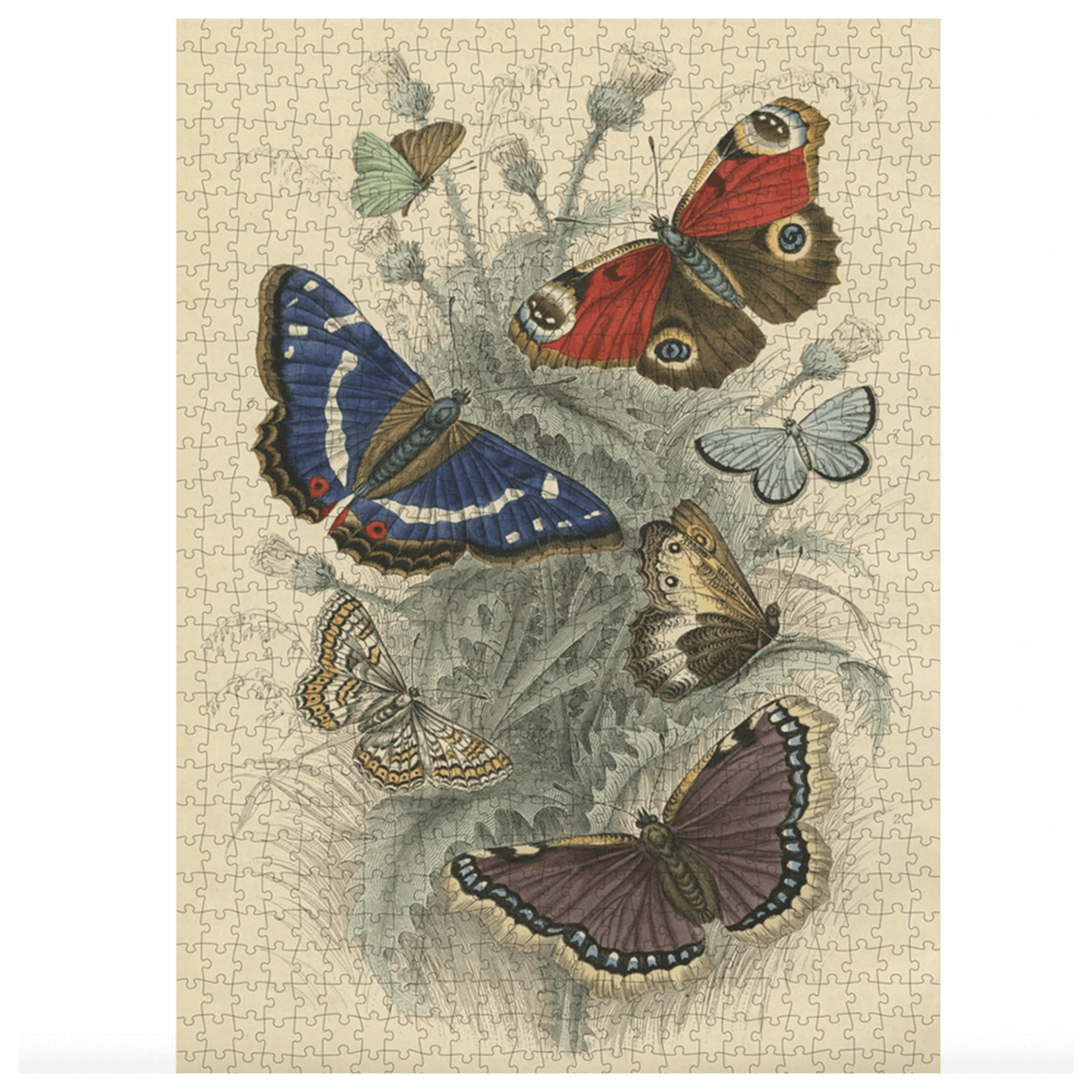 John Derian Puzzle — Dancing Butterflies