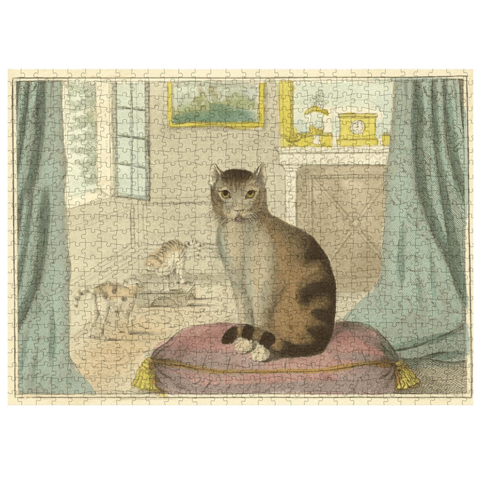 John Derian Puzzle — Calm Cat