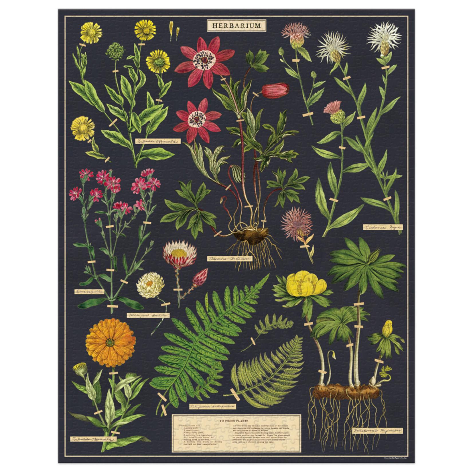 Cavallini & Co. 1000 Pc. Puzzle — Herbarium