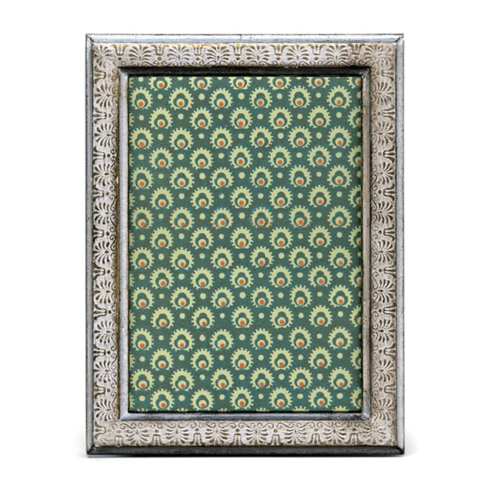 Cavallini & Co. Pavoni Silver Frame
