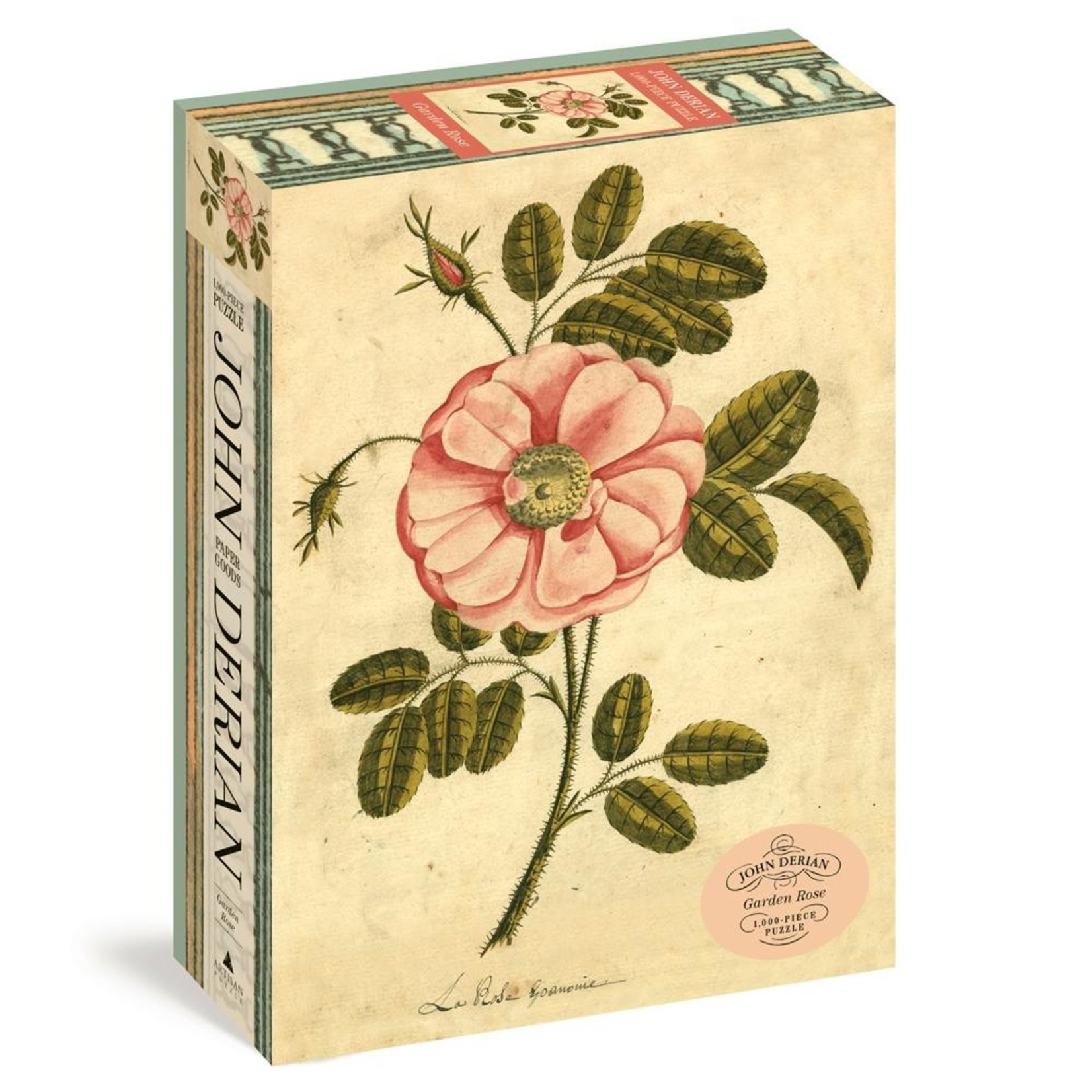 John Derian Puzzle — Garden Rose