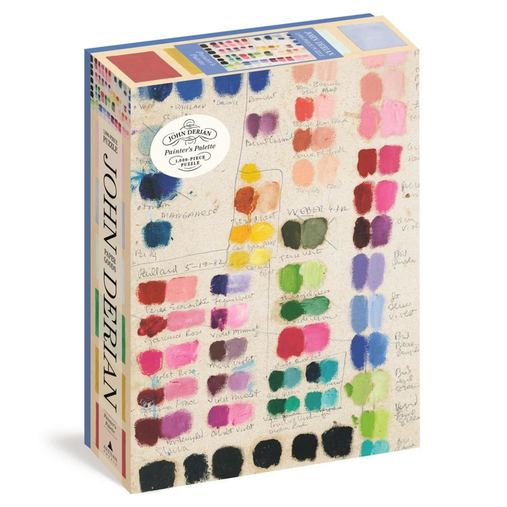 John Derian Puzzle — Painter's Palette