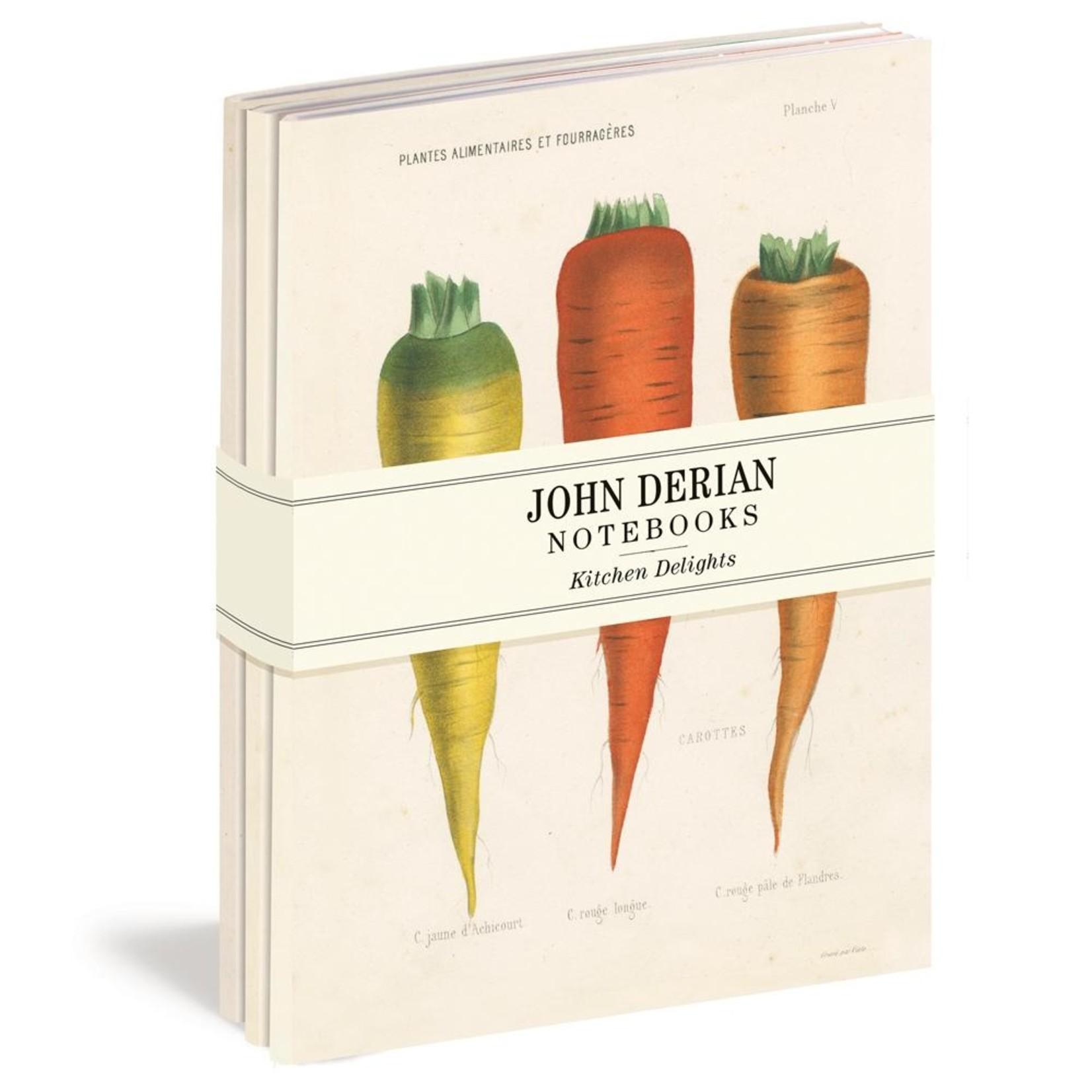 John Derian Kitchen Delights Notebook Set