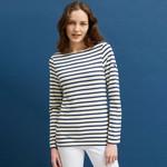 Saint James Minquiers Breton Cotton Shirt