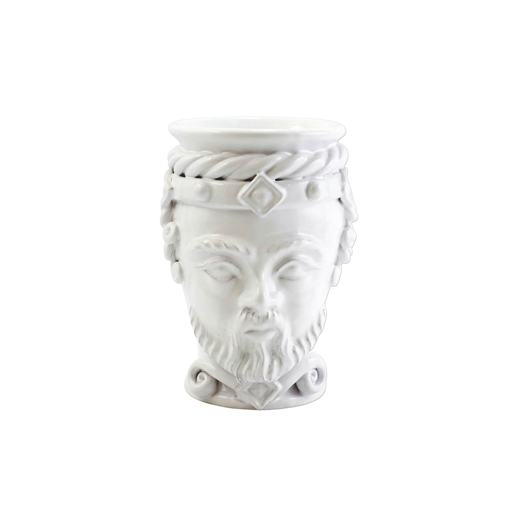 Vietri White Sicilian Head