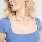 Julie Vos Calypso Demi Delicate Station Necklace
