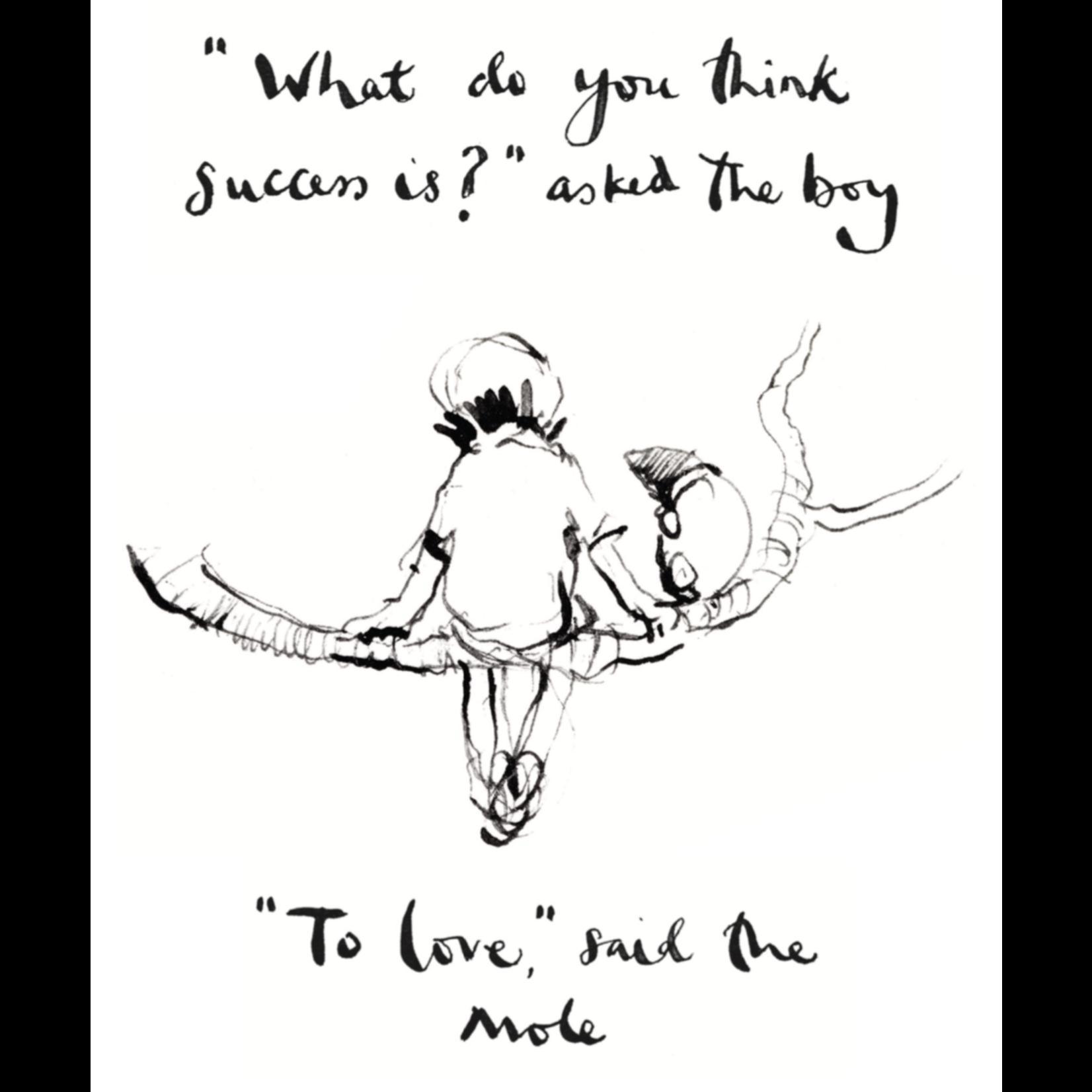 Boy Mole Fox &Horse