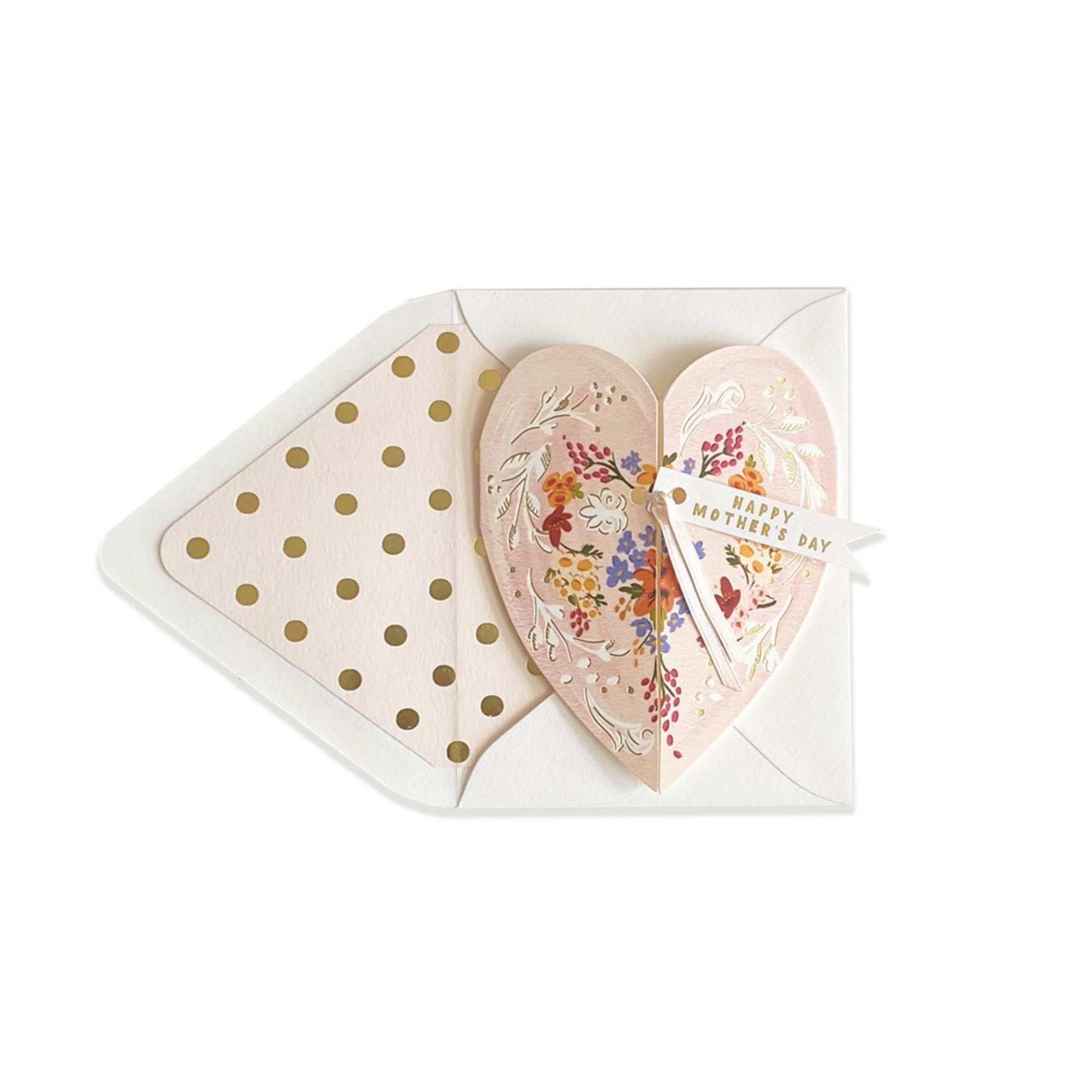 Happy Mother's Day Folding Heart