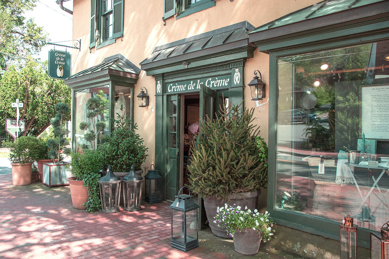 Crème de la Crème - Middleburg, Virginia Store Front