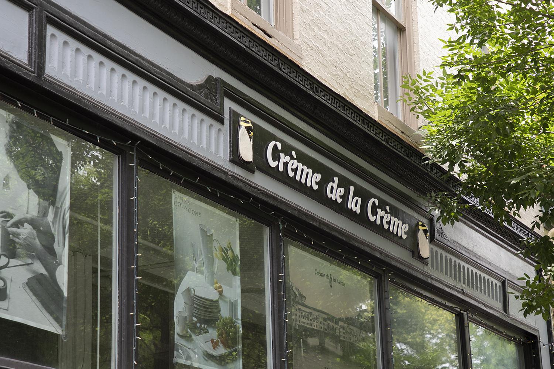 Crème de la Crème - Frederick, Maryland Store Front