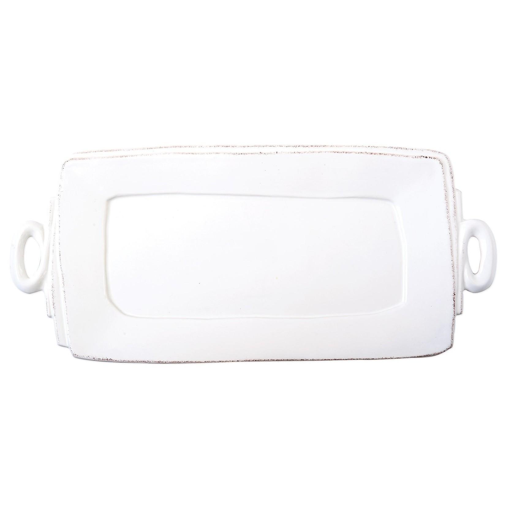 Lastra Handled Rectangular Platter