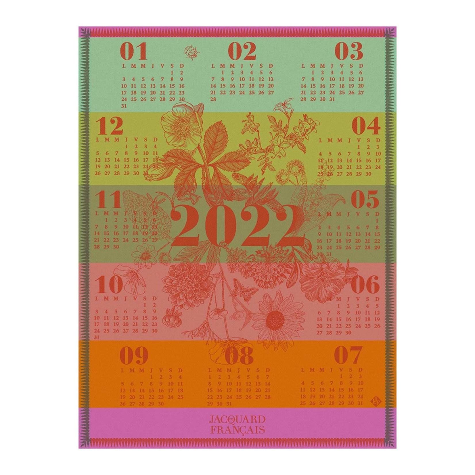 Le Jacquard Francais 2022 Calendar Tea Towel