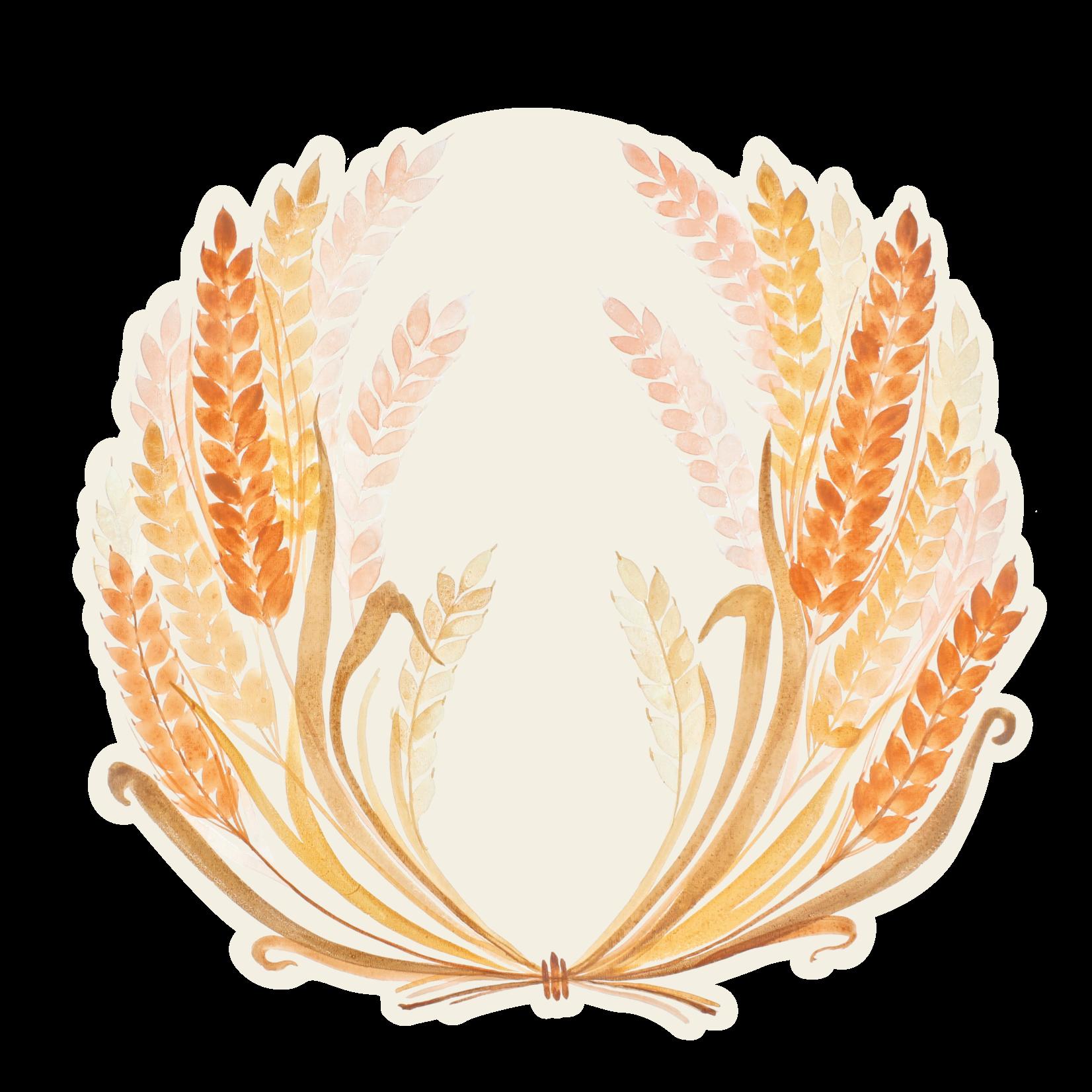 Die Cut Golden Harvest Placemat- 12 Sheets