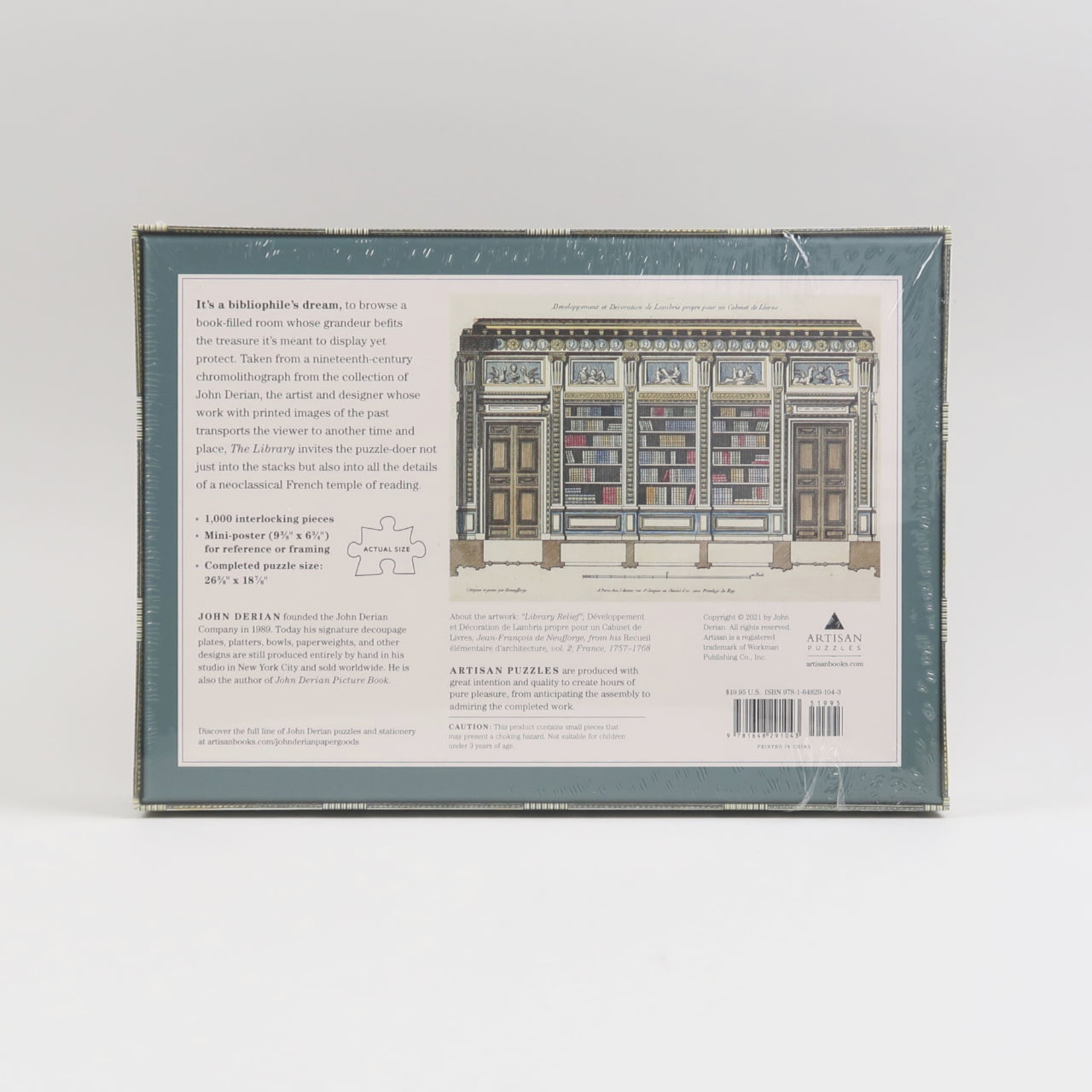 John Derian Puzzle The Library