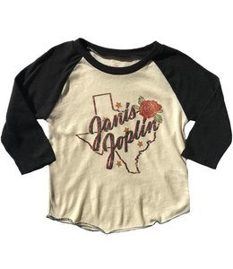 Rowdy Sprout JANIS JOPLIN GIRLIE RAGLAN