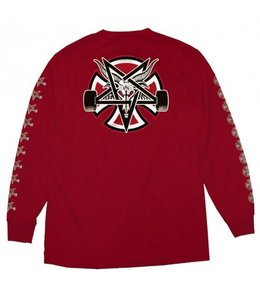 NHS THRASHER PENTAGRAM CROSS L/S
