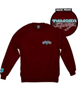 Thrasher RACING CREWNECK SWEATSHIRT