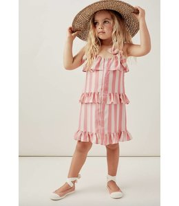 FOR LOVE AND LEMONS SUNSHINE TIERED DRESS