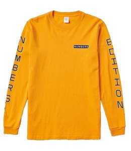 NUMBERS VERTICAL STACK LONG SLEEVE