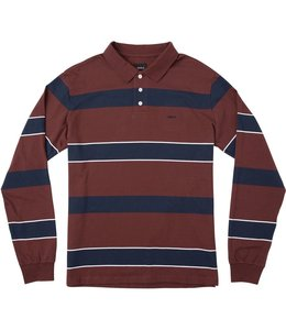 RVCA DARKLANDS LONG SLEEVE POLO