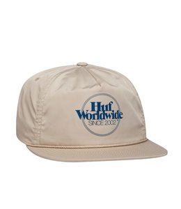 HUF ISSUE ZIP BACK HAT