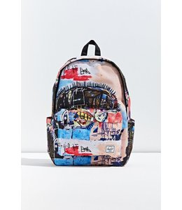 HERSCHEL SUPPLY CO BASQUIAT X CLASSIC XL 600D POLY SKULL