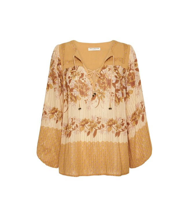 Spell COCO LEI BLOUSE