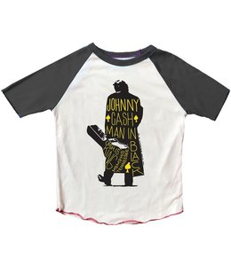 Rowdy Sprout JOHNNY CASH SS RAGLAN