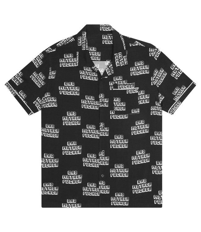HUF PULP FICTION BAD MF BUTTON UP