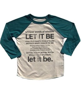Rowdy Sprout LET IT BE RAGLAN