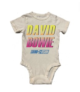 Rowdy Sprout DAVID BOWIE SS ONESIE