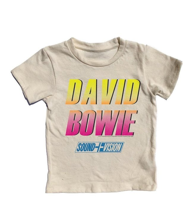 Rowdy Sprout DAVID BOWIE SS TEE