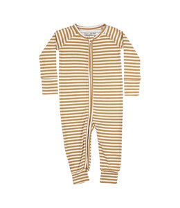 BRAVE LITTLE ONES ZIP ROMPER