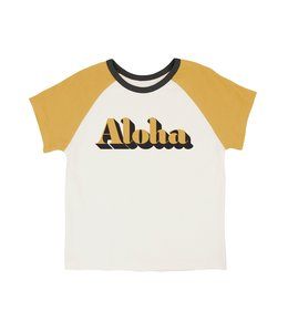 FEATHER 4 ARROW ALOHA S/S RAGLAN