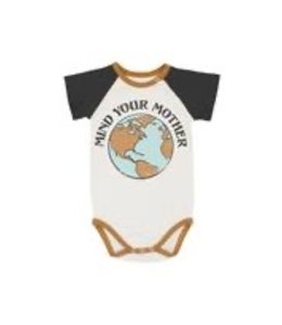 FEATHER 4 ARROW MIND YOUR MOTHER ONESIE