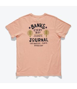 BANKS JOURNAL HOLIDAY FADED TEE