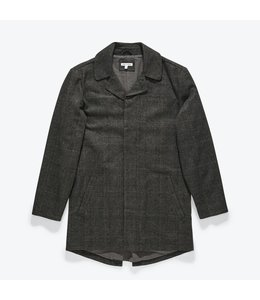 BANKS JOURNAL BROOKLYN PLAID TRENCH