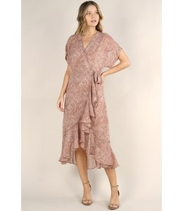 lovestitch VIVIENNE WRAP DRESS