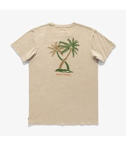 BANKS JOURNAL GREEN HAZE FADED TEE