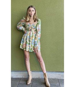 GIRL AND THE SUN CALI DRESS