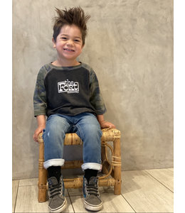THE FORT FORT RETRO RAGLAN TODDLER
