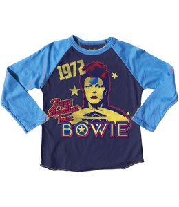 Rowdy Sprout BOWIE RECYCLED RAGLAN TEE